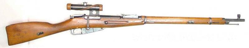 Mosin-Nagant 1891/30S  mesterlövészpuska